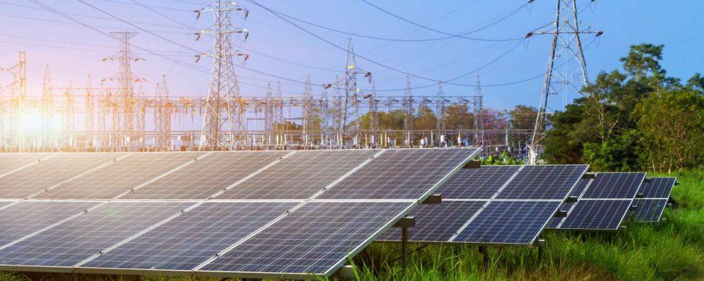 Elektriciteitsnet zon- enn windparken